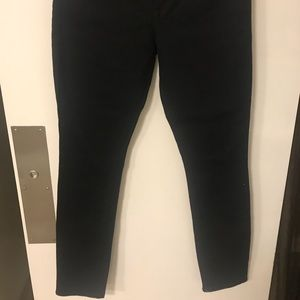 Old Navy sweetheart skinny jeans black size 2